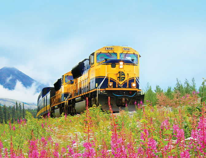 Alaska Railroad Summer Vacation Travel Packages